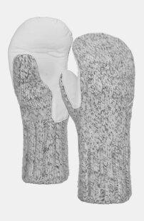 Handschuhe SWISSWOOL CLASSIC MITTEN LEATHER