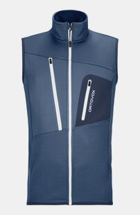 Veste sans manches FLEECE GRID VEST M