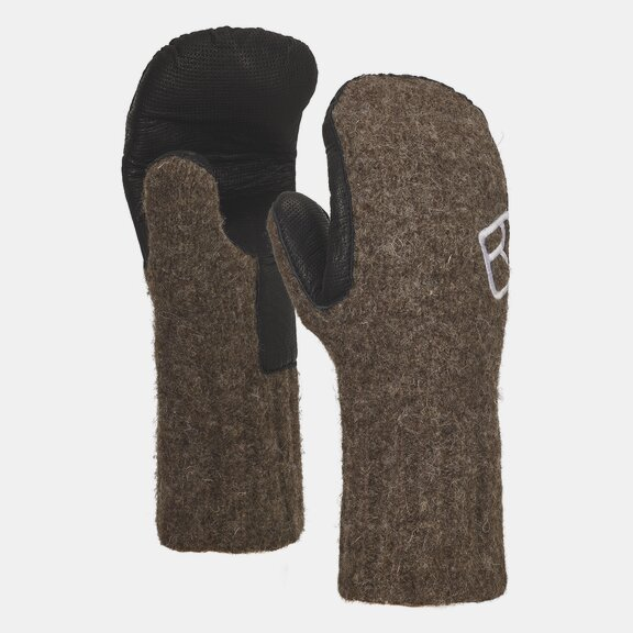 Gloves SWISSWOOL CLASSIC MITTEN LEATHER